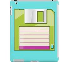 Green Floppy iPad Case/Skin