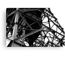 Deserted Crane  Canvas Print