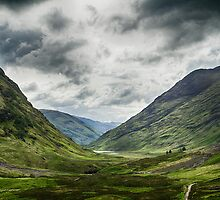 Road to Glencoe by Marylou Badeaux
