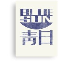 Blue Sun Vintage Style Shirt (Firefly/Serenity) Canvas Print