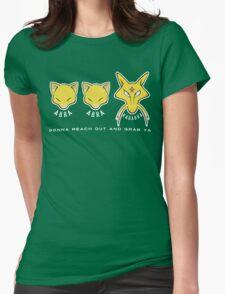 PokéPun - 'Abra Abra Kadabra' Womens Fitted T-Shirt