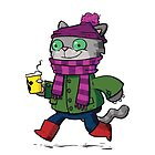 Winter Kitty by striffle