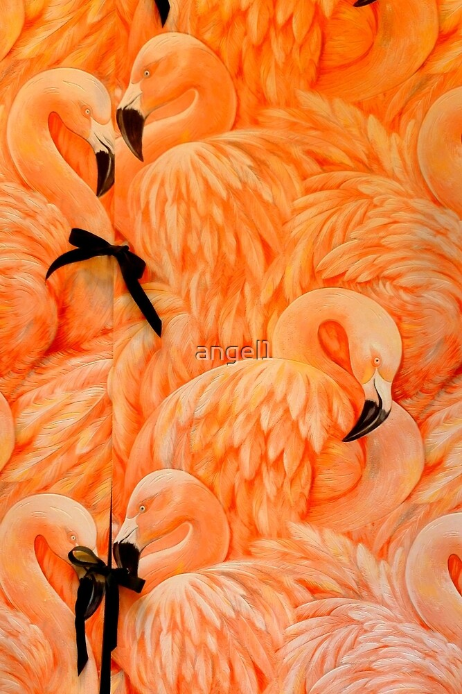 Flamingos by ©The Creative  Minds