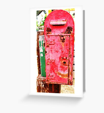 The Ole Postbox Greeting Card
