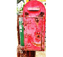 The Ole Postbox Photographic Print