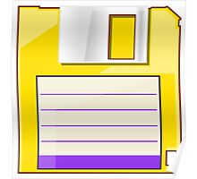 Yellow Floppy Poster