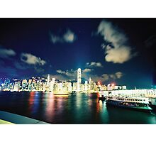 harbour lights Photographic Print
