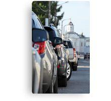 Street parking Canvas Print