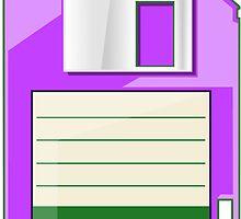 Purple Floppy by Ewan T. Gibson