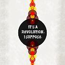 Imagine Dragon - Radioactive Lyric Poster by Alexandrico
