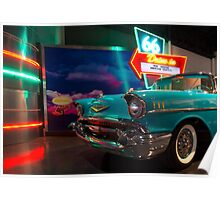 Chevy Drive In Poster