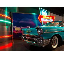 Chevy Drive In Photographic Print