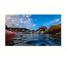 Paddle to Gorey by Gary Power Art Print