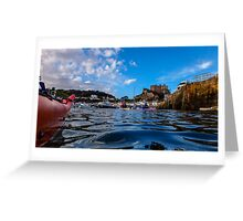 Paddle to Gorey by Gary Power Greeting Card