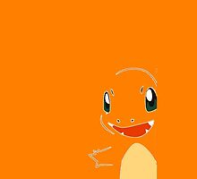 Charmander Orange Phone case by Thomas Marsden