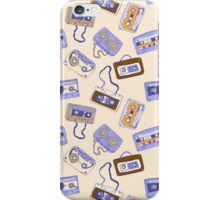 Audio cassette iPhone Case/Skin