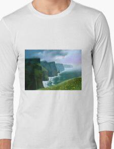 The Cliffs of Moher Long Sleeve T-Shirt