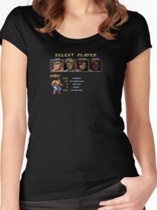 Streets of Rage 2 - Max Women's Fitted Scoop T-Shirt
