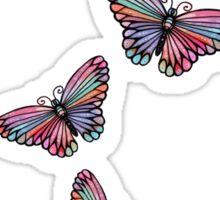 Pretty Butterflies flying Sticker