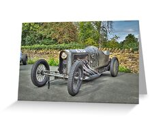 GN JAP Grand Prix Racing Car Greeting Card