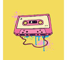 Retro cassette tape. Photographic Print