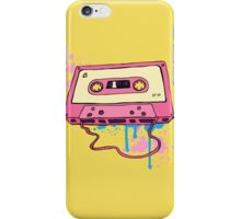 Retro cassette tape. iPhone Case/Skin