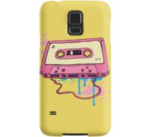 Retro cassette tape. Samsung Galaxy Case/Skin