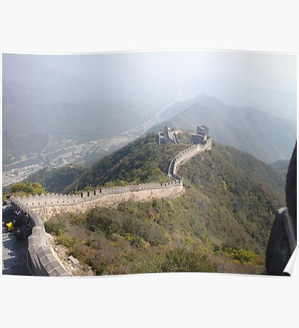 Great Wall, Beijing Poster