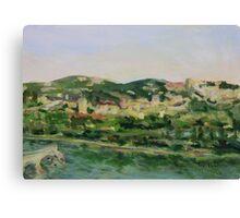 Across the Way Villeneuve lez Avignon France  Canvas Print