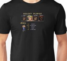 Streets of Rage 2 - Axel Unisex T-Shirt