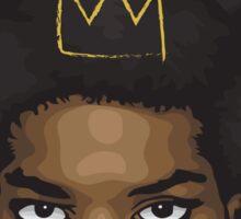 Jean Michel Basquiat Sticker