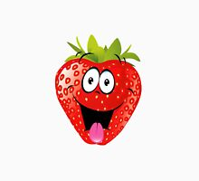 smiling Strawberry  Unisex T-Shirt