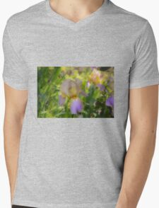 A touch of lavender Mens V-Neck T-Shirt