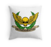 ONLY IN DEATH... Throw Pillow