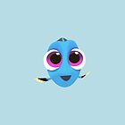 Finding Dory   Baby Dory by carolam