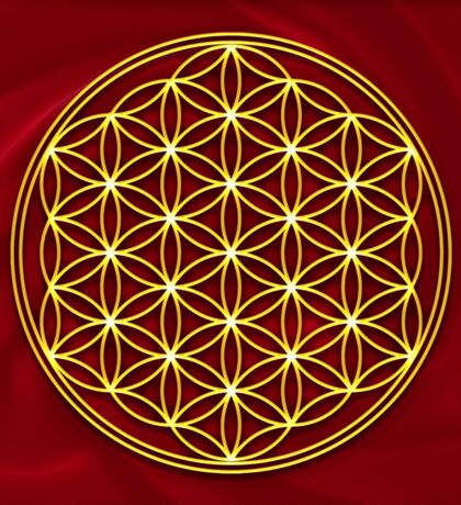 FLOWER OF LIFE - SACRED GEOMETRY - HARMONY & BALANCE Sticker