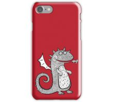Cartoon dragon.  iPhone Case/Skin
