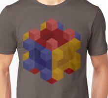 Cubes On Cubes in Cubes Unisex T-Shirt