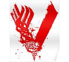 Vikings - Bloody Logo Poster