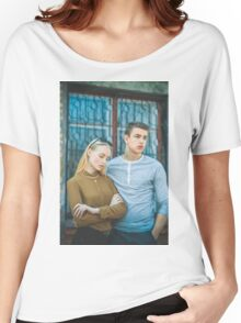 two couple Women's Relaxed Fit T-Shirt