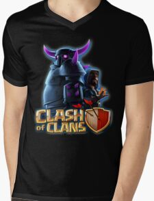 PEKKA and WIZARD Mens V-Neck T-Shirt