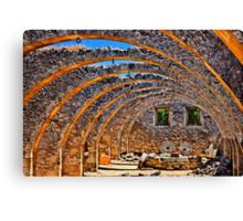 The Cretan golden arches Canvas Print