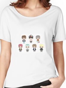 Chibi Fire Women's Relaxed Fit T-Shirt
