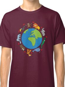 We Love Our Planet! Classic T-Shirt