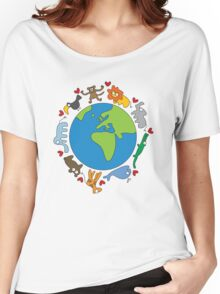 We Love Our Planet! Women's Relaxed Fit T-Shirt