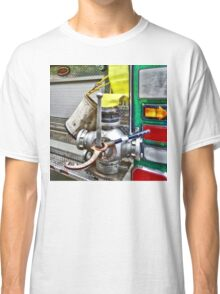 Fire Bucket and Yellow Fire Hose Classic T-Shirt