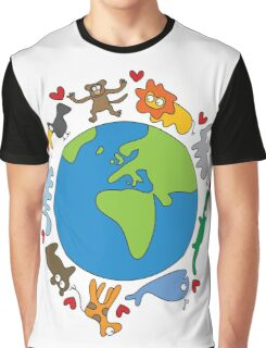We Love Our Planet! Graphic T-Shirt