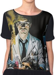 Re-Animator science fiction cover Chiffon Top