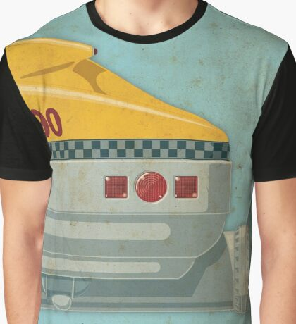 Korben Dallas' Flying Taxi, The Fifth Element 3 of 3 Graphic T-Shirt