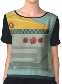Korben Dallas' Flying Taxi, The Fifth Element 3 of 3 Chiffon Top